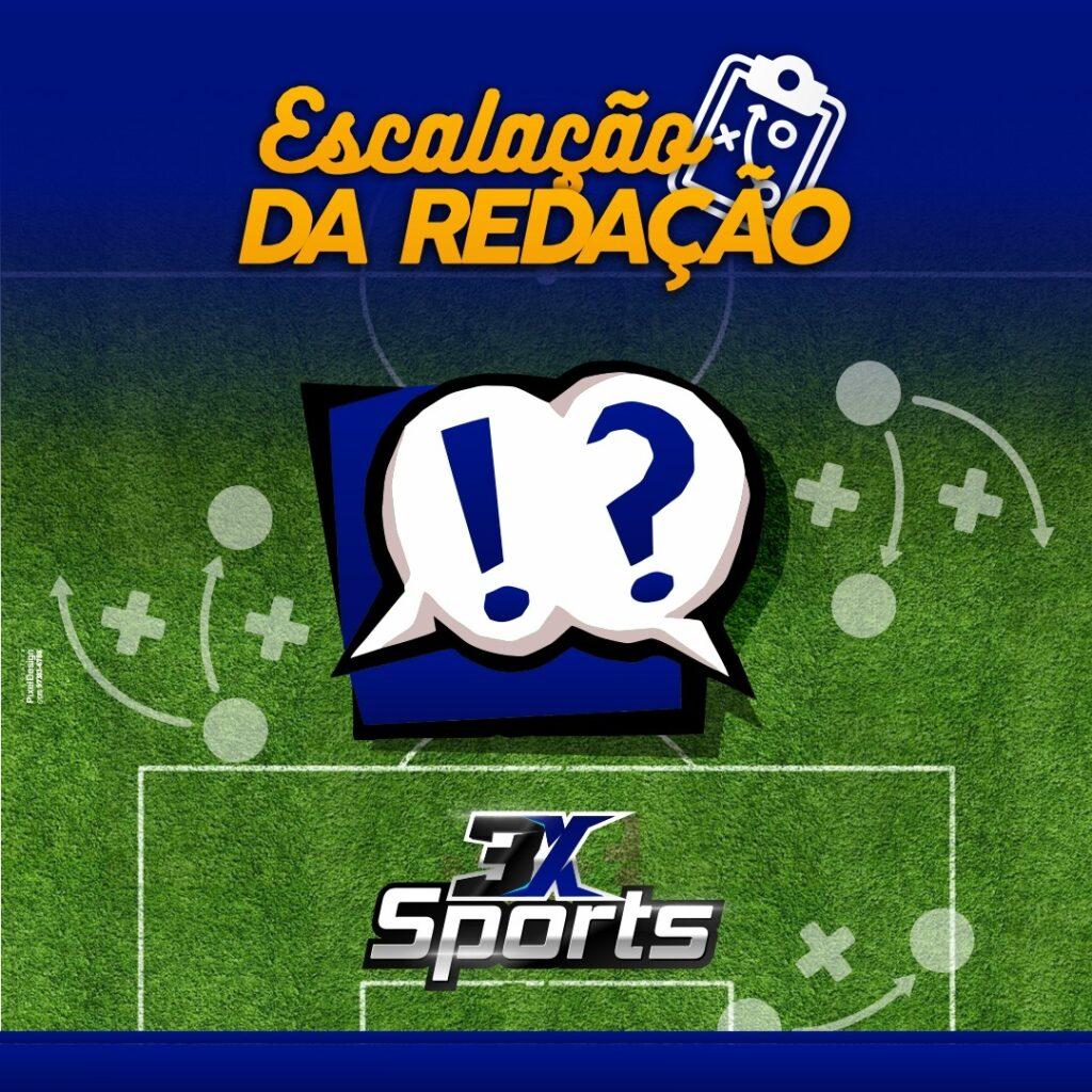Time da redação da 3X Sports está escalada para a 12ª rodada do Cartola FC